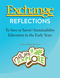 To Save or Savor? Sustainability Education in the Early Years