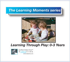 Learning Moments CD - Learning Through Play: Age 0 - 3 Years