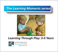 Learning Moments CD - Learning Through Play: Age 3 - 5 Years